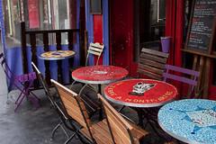 Paris Tables- (PhotoTrips_ArtApril) Tags: street paris france canon walking tables diners cafes outdoorcafe bistros outdoorphotographer