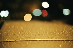 rain drops on the car at night. (yavuz.kaya) Tags: light color art film colors beautiful rain night analog 35mm canon wow wonderful lights nice dof kodak bokeh good smooth fast 200iso 55mm stunning excellent raindrops plus lightning fullframe fx oldcamera silky lenses fd f12 wideopen canonfilm canonfd canonfx lensfd fdlens fastlens filmisnotdead camerafilm kodakcolor fdfd f112 lensold camerafdcanoncanon lensesartbeautifulnicewonderfulgoodcanon