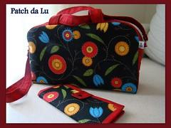 Bolsa e carteira Márcia (Patch da Lu) Tags: carteira bolsa portamoedas portacartões bolsaalçaregulável carteiraportadocumentos