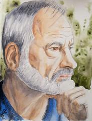 Gary Tausch / Cobol for JKPP (RafaCM...) Tags: party portrait watercolor julia retrato kay acurela jkpp