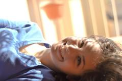 Dog days are over (StellaDeLMattino) Tags: light portrait sun girl smile 50mm nikon friend sara teenager sorriso nikkor f18 sole ritratto luce ragazza d5000