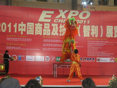 Campeonato Nacional Danza de leon y dragón.