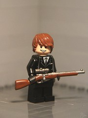 Mosin Nagant - [Custom painted] ([Stijn Oom]) Tags: lego painted will prototype motm weapon ww2 ba jd custom prizes russian proto bebs pizzas mosin nagant brickarms bbtb toywiz