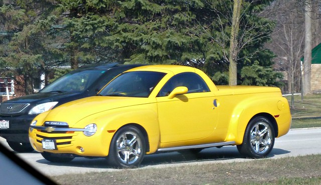 chevrolet car convertible pickup ssr