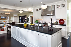 "Kitchen with Soapstone countertops and Ebonized wood floors • <a style=""font-size:0.8em;"" href=""http://www.flickr.com/photos/75603962@N08/6853407249/"" target=""_blank"">View on Flickr</a>"