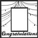 Congratulations 5x7 Frame Overlay
