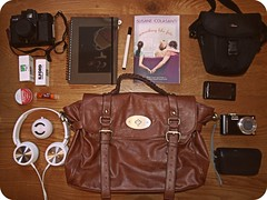 247/365 (and the bird took flight...) Tags: camera travel italy holiday ski cute travelling bag lumix day skiing whats diary year books cameras headphones 1960s 365 items g3 tones satchel whatsinmybag tone carry picnik edit 247 yearly project365 365project 247365