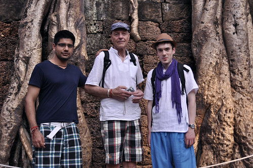 The Lads at Ta Prohm