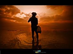 A day in the life of a...fisherman (dinesh.I) Tags: morning fisherman chengalpet nikond90 kolavai kolavailake dineshbabui din3shphotography din3shi