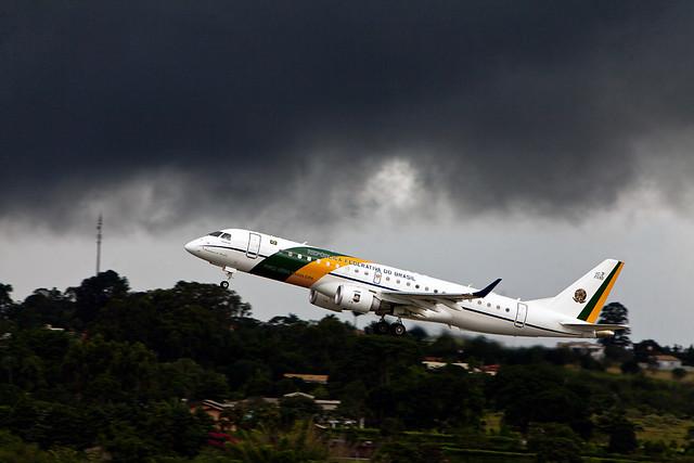 VC-2  2590 BRAZILIAN PRESIDENTIAL PLANE#2