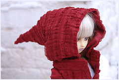 Red Riding Hood (pacific_rin) Tags: sabrina snow doll bjd volks cyndy redridinghood fer dollheart cyndy2