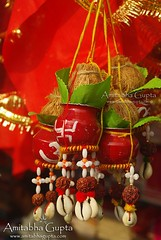 Accessories for Worship (AmitabhaGupta) Tags: india seashells religious beads worship coconut indian ritual tradition hindu kolkata pitchers kori tradtional westbengal kalighat shellmoney rudraksha indiantradition traditionallyindian gettyimagesindiaq4