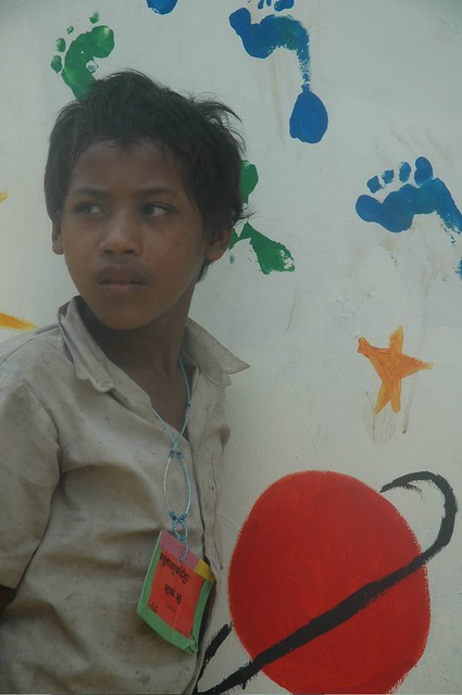 Boy with Painting