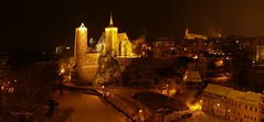 Bautzen, die Stadt der Trme...Bautzen, a city of towers (Harald Steeg) Tags: winter sachsen stdte bautzen nachtaufnahmen