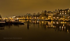 Amstel Pano (N+C Photo) Tags: travel winter vacation orange holiday cold holland building tourism netherlands dutch amsterdam les architecture night river boats photography design casey frozen nikon nadia europe iamsterdam earth expression culture photographers eu structure adventure explore viajes artists coolpix getty ajax traveling fotografia bas turismo mokum pays vacaciones mundo travelers amstel gettyimages niederlande discover aventura tierra benelux hokum descubrimiento pasesbajos snowice traveladventure urbansuburban gettyimagescom gettycollection p7100 mygearandme mygearandmepremium mygearandmebronze mygearandmesilver leshollandes