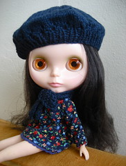 New hat and scarf!