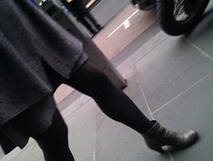 20100930123215 (phosed) Tags: legs candid tights pantyhose
