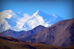 Denali - Mountain Landscape from Alaska (blmiers2) Tags: travel blue white mountain nature alaska landscape nikon denali d3100 blm18 blmiers2