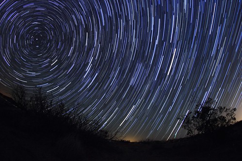 Polaris / Mars / Saturn Startrails