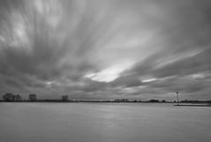 (Robvanasch) Tags: longexposure trees blackandwhite water clouds canon river filter cokin uiterwaard amerongen lowerrhine nd8 efs1785 nederrijn eos60d robvanasch