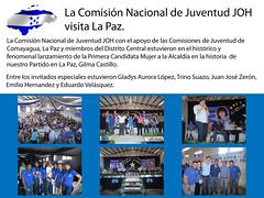 Juventud JOH visita La Paz (juventudnacionalistajoh) Tags: de la orlando juan paz honduras nacional hernandez joh juventud comision