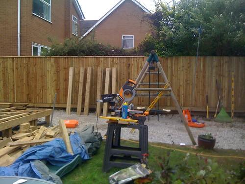 Hardwood Decking Alderley Edge - Modern Family Garden. Image 8