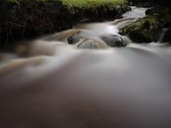 Filtered Water(explore) (kenny barker) Tags: winter motion nature water landscape lumix scotland rocks explore motionblur bonnybridge roughcastle stealingshadows daarklands panasonicgf1 welcomeuk kennybarker