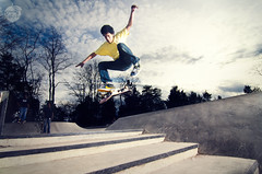 Jimmy (Travis Pietsch) Tags: park camera people kids paul photography 50mm nikon skateboarding bees board c flash alien teenagers off tokina skate buff travis wireless sync vivitar grind swag f28 cyber trigger pietsch herdon 14g ab1600 1116mm d7000