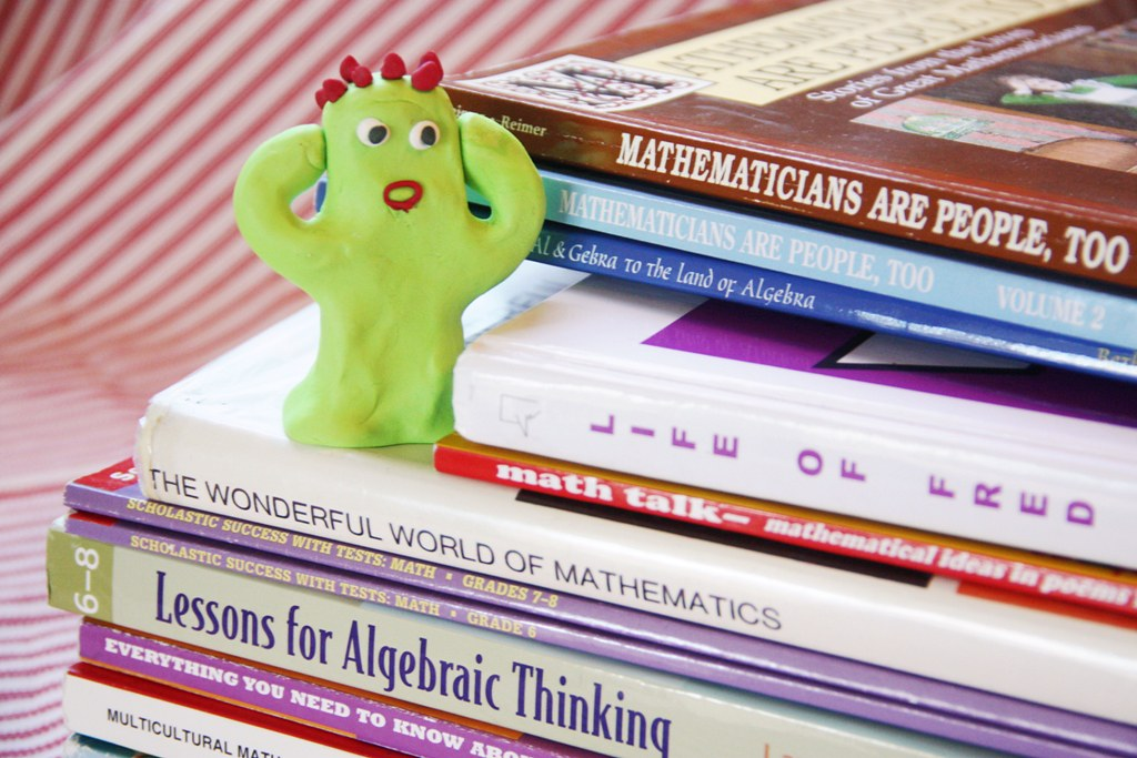 AFraid of math by jimmiehomeschoolmom, on Flickr