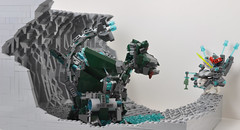 Broqek Battle Bear - vs Dragon (Si-MOCs) Tags: bear dragon lego battle vs