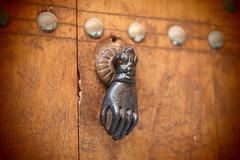 knock knock (drawingyourattention) Tags: africa door city pen hand olympus marocco marrakech marrakesh 45mm pinholefilter epl2 mzuiko45mmf18