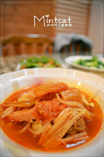 阿美韓國泡菜新品上市!韓國媽媽到府服務般的超美味道地韓國泡菜鍋 @ 台北