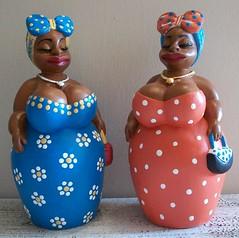 Mini Fulô 18cm (ATELIER CINTHYA VAZ) Tags: artesanato boneca brasileiro gesso vaz cinthya atelier barraqueiras namoradeira