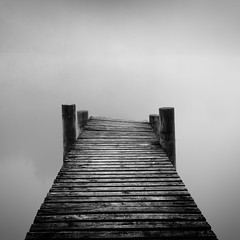Misty Jetty (Billy Currie) Tags: mist lake misty fog wooden post jetty foggy ng loch trossachs ard stirlingshire