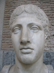 Testa del Doriforo (Minerva's_Owl) Tags: scultura testa doriforo policleto