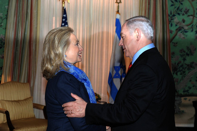 Meeting of PM NETANYAHU with Secretary of State Hillary Clinton in Washington, DC