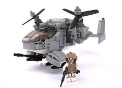 European Union Baphomet Gunship (2) (✠Andreas) Tags: military eu vtol gunship bley leho legogunship euarmy