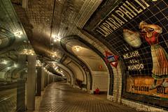 Un paseo por la vieja estación (Pogdorica) Tags: madrid tren metro museo fantasma anden chamberi anden0 cruzadasii cruzadasi cruzadasiii