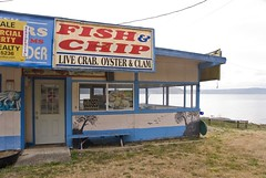 Fish & Chips shop, Hood Canal, Olympic Peninsula, Washington (dkjphoto) Tags: seattle travel usa fish tourism beach water america restaurant washington tour unitedstates tourist chip northamerica hood olympic peninsula lapush dennisjohnson wwwdenniskjohnsoncomlapush