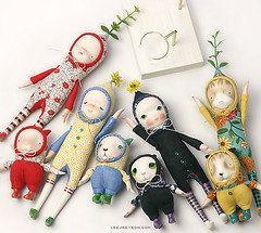 Sprout Series (LeeJaeYeon) Tags: original art doll handmade creative bisque sprout porcelain leejaeyeon