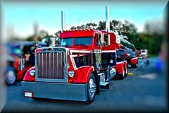 10-Red Pete HDR (High Def Gallery) Tags: pictures show classic cars shop truck big high surreal 8 class chrome rig stunning trucks striking enhanced hdr def in bigrigsinhdr hdrsemi