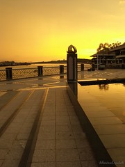 Sunset view @waterfront BSB 1 (khairulsadek) Tags: waterfront bandarseribegawan bruneidarussalam sunsetkampongayerscenery