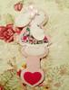 Marca página de Coelhinha (Feito a mão [by Rafa]) Tags: cute artesanato felt páscoa feltro coelho fofo encomenda coelha fieltro marcapágina feltrosantafé rafagibrim apaixonadosporfeltro