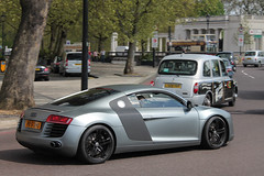 4.2 (michaelbham243) Tags: london car knightsbridge german expensive audi mayfair supercar v8 r8
