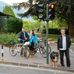 Bozen (anuwintschalek) Tags: italien italy bike bicycle tirol spring cycle fahrrad ratas tyrol sdtirol frhling bozen southtyrol 2014 kevad itaalia jalgratas cyclechic d7k tirool nikond7000 18140vr lunatirool