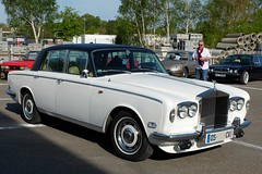 ROLLS-ROYCE Silver Shadow (xavnco2) Tags: shadow white france classic cars car club automobile meeting rollsroyce exposition normandie autos blanche bourse normandy bbb 2016 raduno seinemaritime neufchatelenbray retromecanick