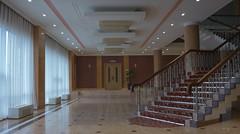 Vers le restaurant n1 - Hotel Sosan Pyongyang (jonathanung@ymail.com) Tags: lumix hotel asia korea asie nord northkorea pyongyang core dprk cm1 koryo sosan coredunord insidenorthkorea rpubliquepopulairedmocratiquedecore rpdc lumixcm1