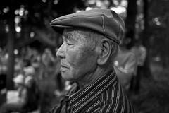 People of deerstalker hat (harumichi otani) Tags: street blackandwhite bw monochrome japan blackwhite streetportrait