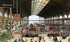 Gare du Nord (Hear and Their) Tags: paris gare eurostar du nord franc