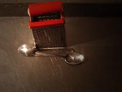 No. 1116 - 28 de mayo/16 (s_manrique) Tags: metal cocina cuchara rayador